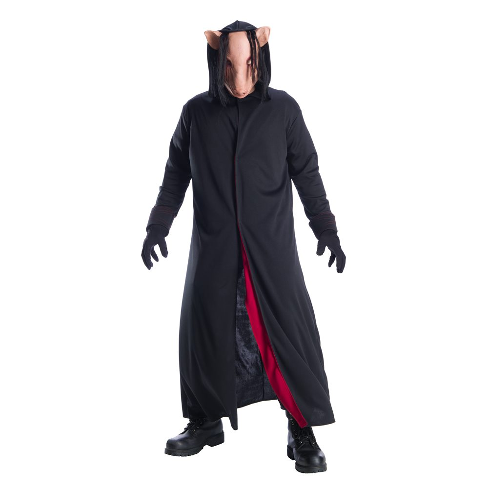 Picture of Jigsaw Pig Face Adult Mens Costume (Coming Soon)