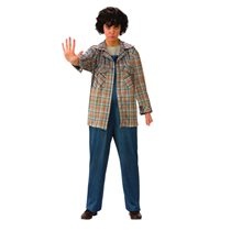 Picture of Stranger Things Plaid Eleven Adult Womens Shirt