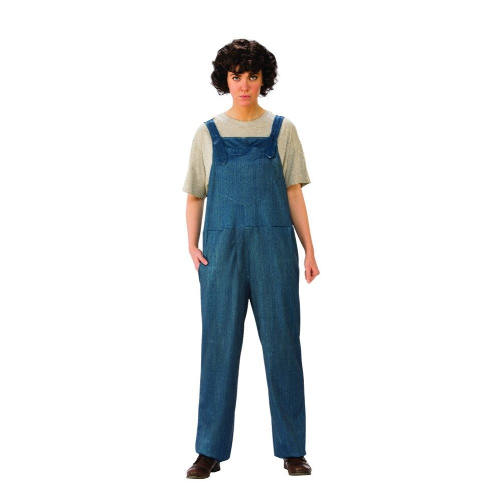 Picture of Stranger Things Eleven Overalls Adult Womens Costume