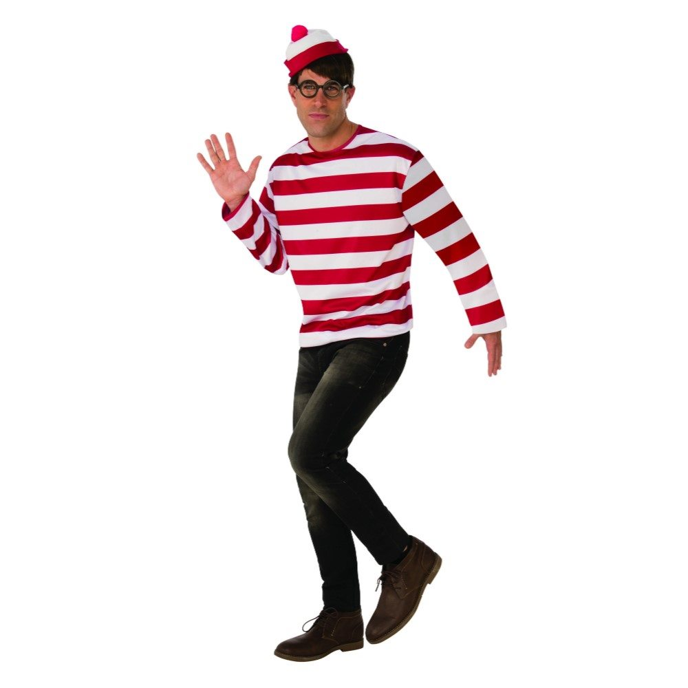 Picture of Waldo Adult Mens Costume