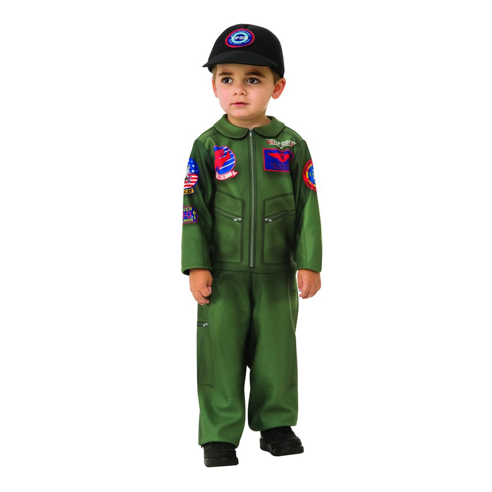 Picture of Top Gun Flight Suit Toddler Costume (Coming Soon)