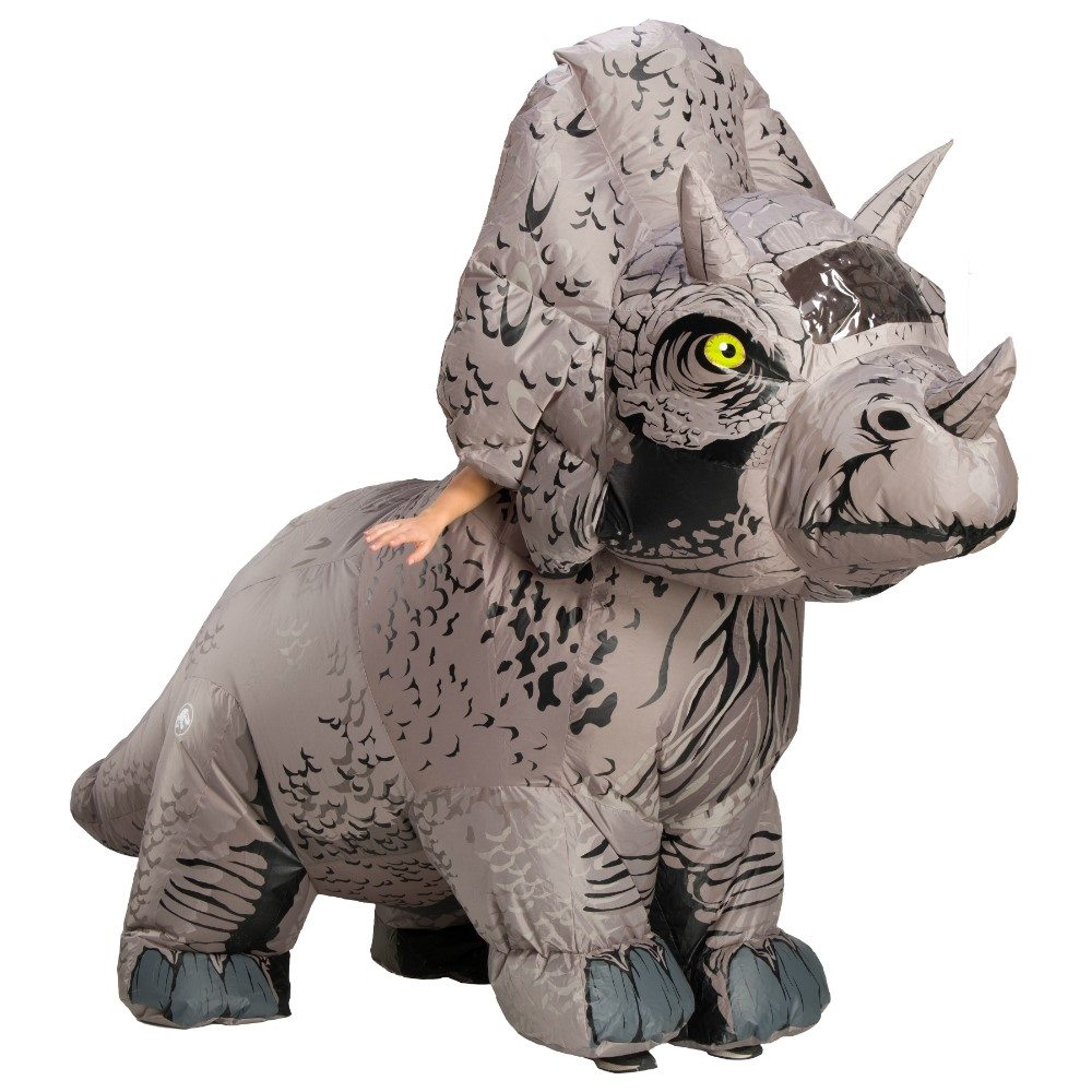 Picture of Jurassic World 2 Triceratops Inflatable Adult Unisex Costume