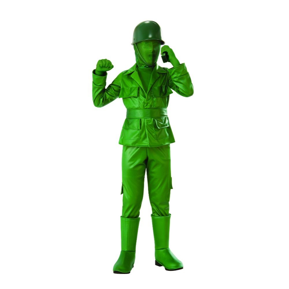 Picture of Green Army Boy Child Costume