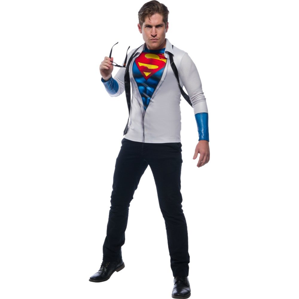 Picture of Superman Open Shirt Adult Mens Costume