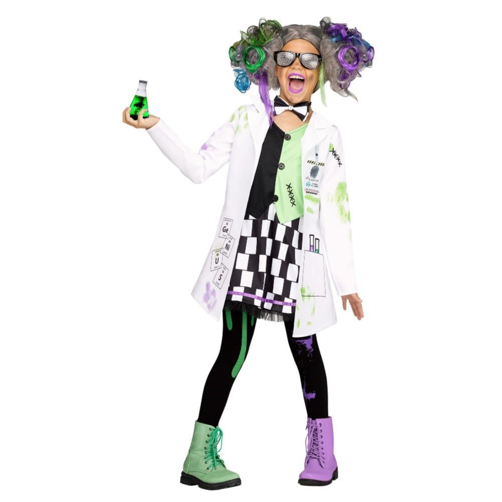 Picture of Miss Mad Scientist Child Costume