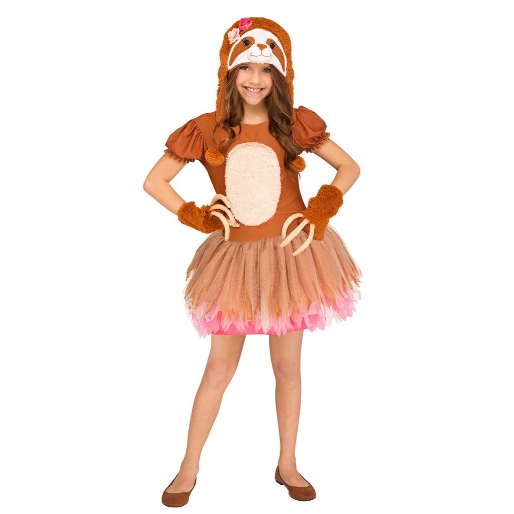 Picture of Sassy Sloth Dress Child Costume