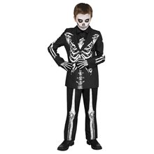 Picture of Mr. Bones Suit Child Costume