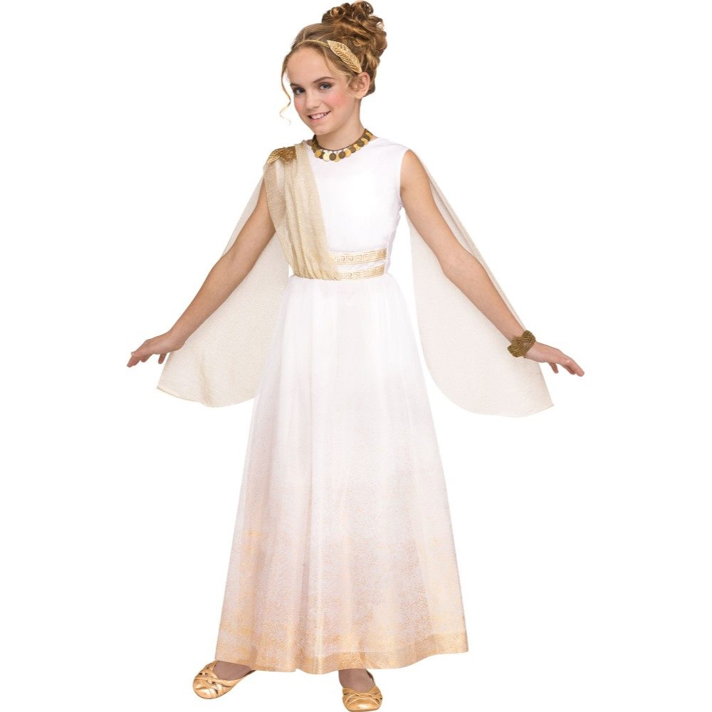Picture of Golden Goddess Child Costume