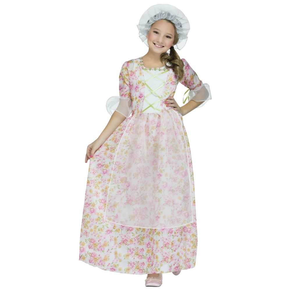 Picture of Colonial Lady Child Costume