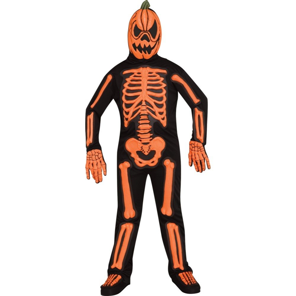 Picture of Skele-Jack-O-Lantern Child Costume