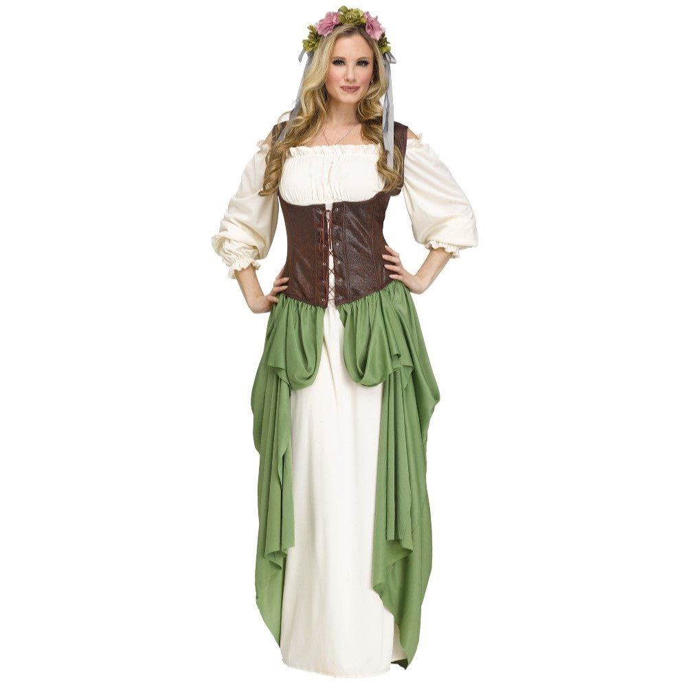 Picture of Medieval Wench Adult Womens Costume