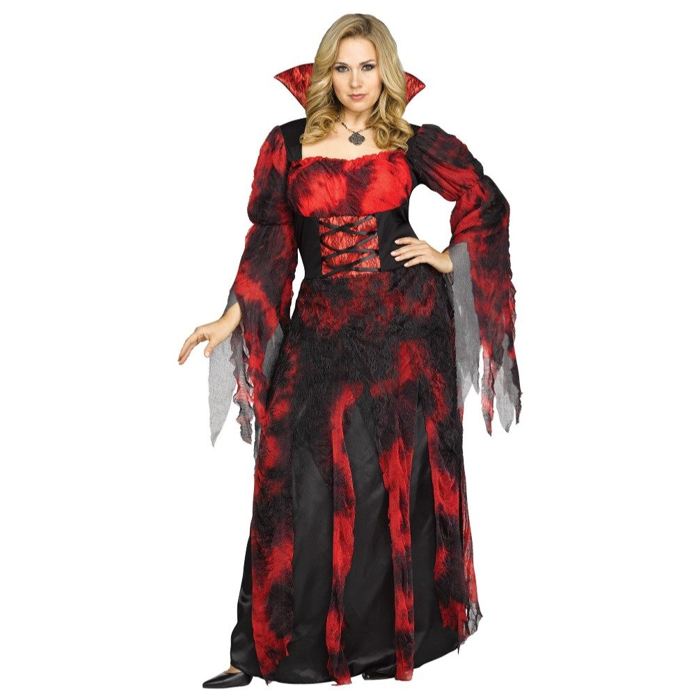 Picture of Gothic Countessa Adult Womens Plus Size Costume
