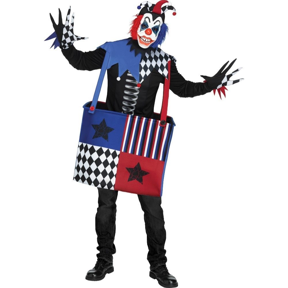 Picture of Freak-in-a-Box Adult Mens Costume