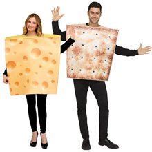 Picture of Cheese & Cracker Couple Costume Set