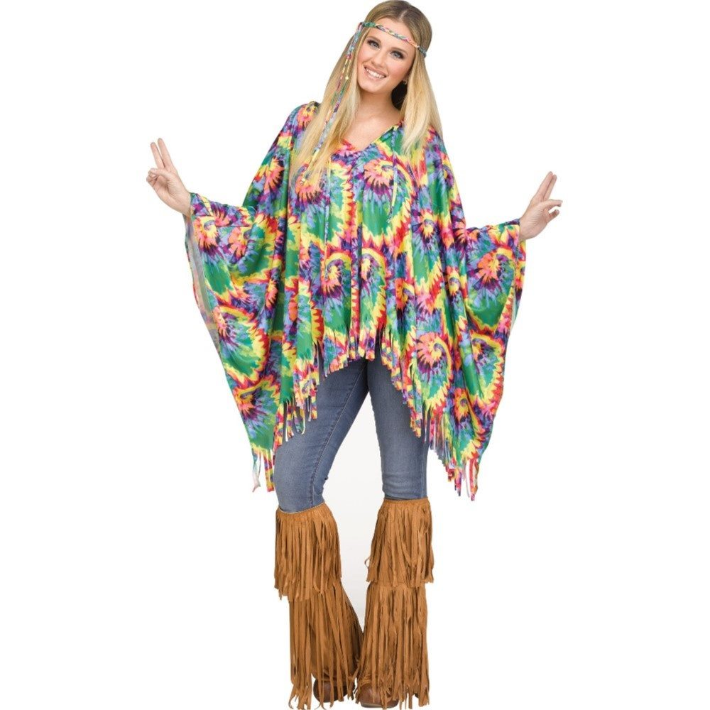 Picture of Tie-Dye Hippie Poncho