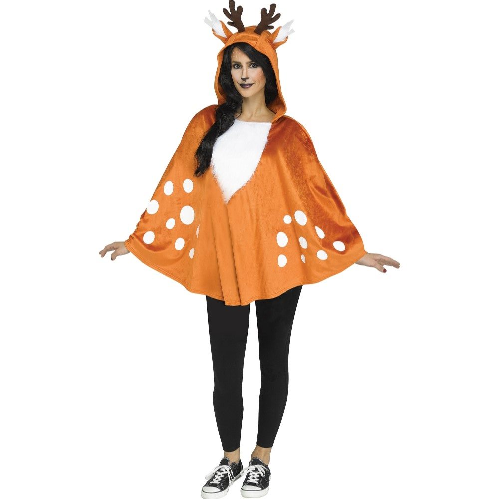 Picture of Fawn Hooded Poncho