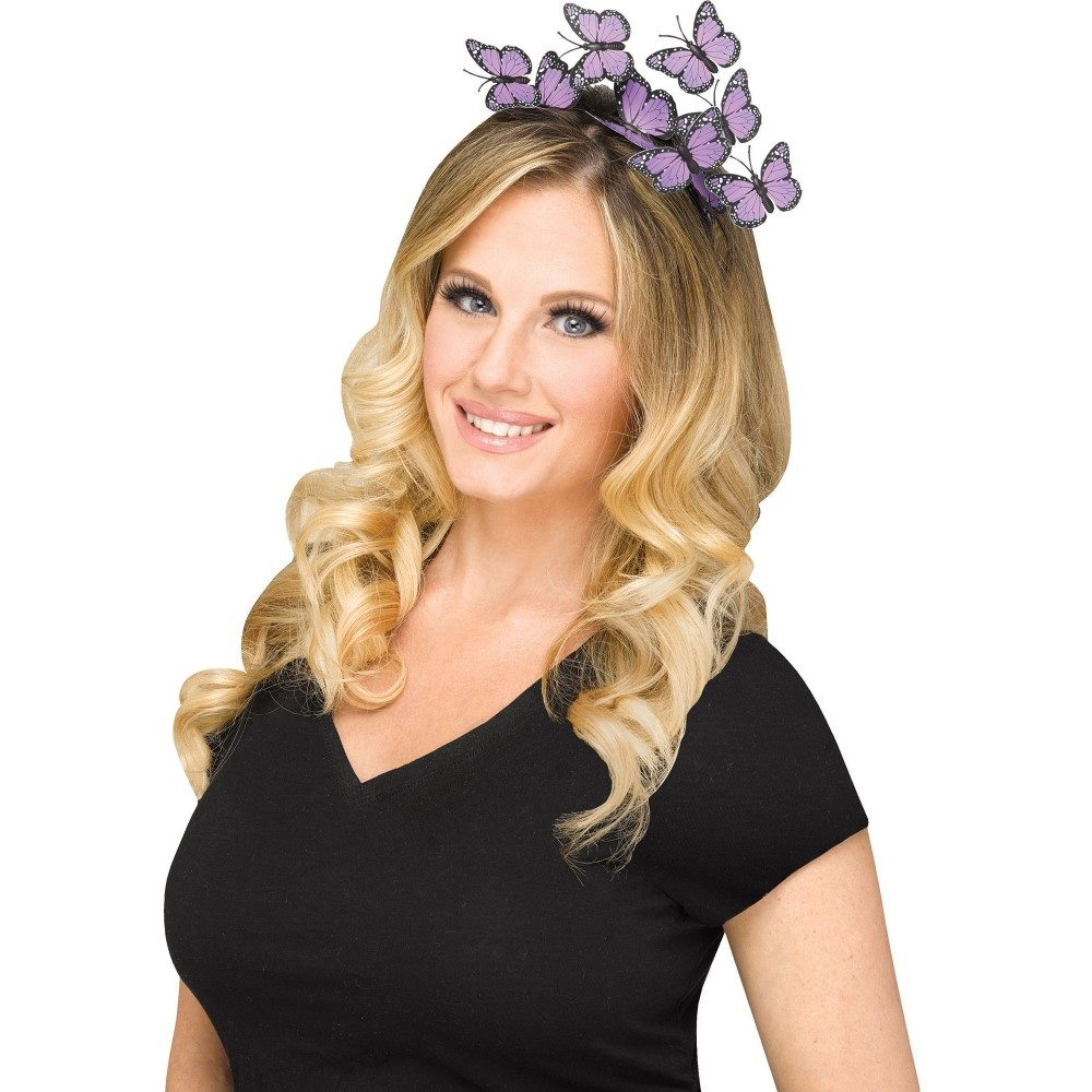 Picture of Purple Butterfly Headband