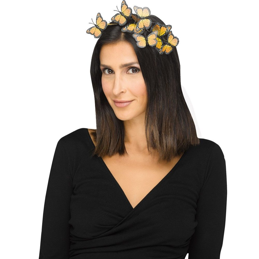 Picture of Yellow Butterfly Headband