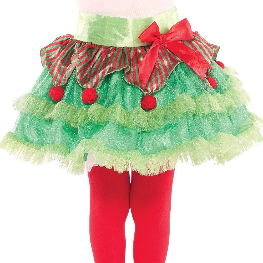 Picture of Christmas Elf Child Tutu