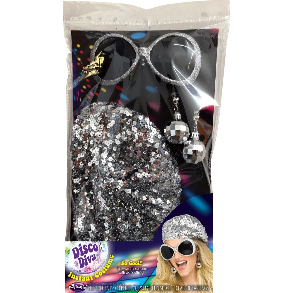 Picture of 70s Disco Diva Instant Costume Kit