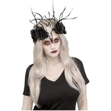 Picture of Zombie Raven Mistress Headpiece