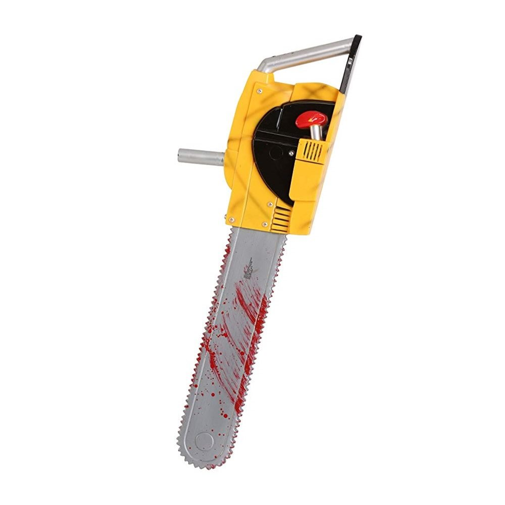 Picture of Yellow Chainsaw 27in