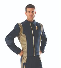 Picture of Star Trek Discovery Deluxe Command Adult Mens Shirt