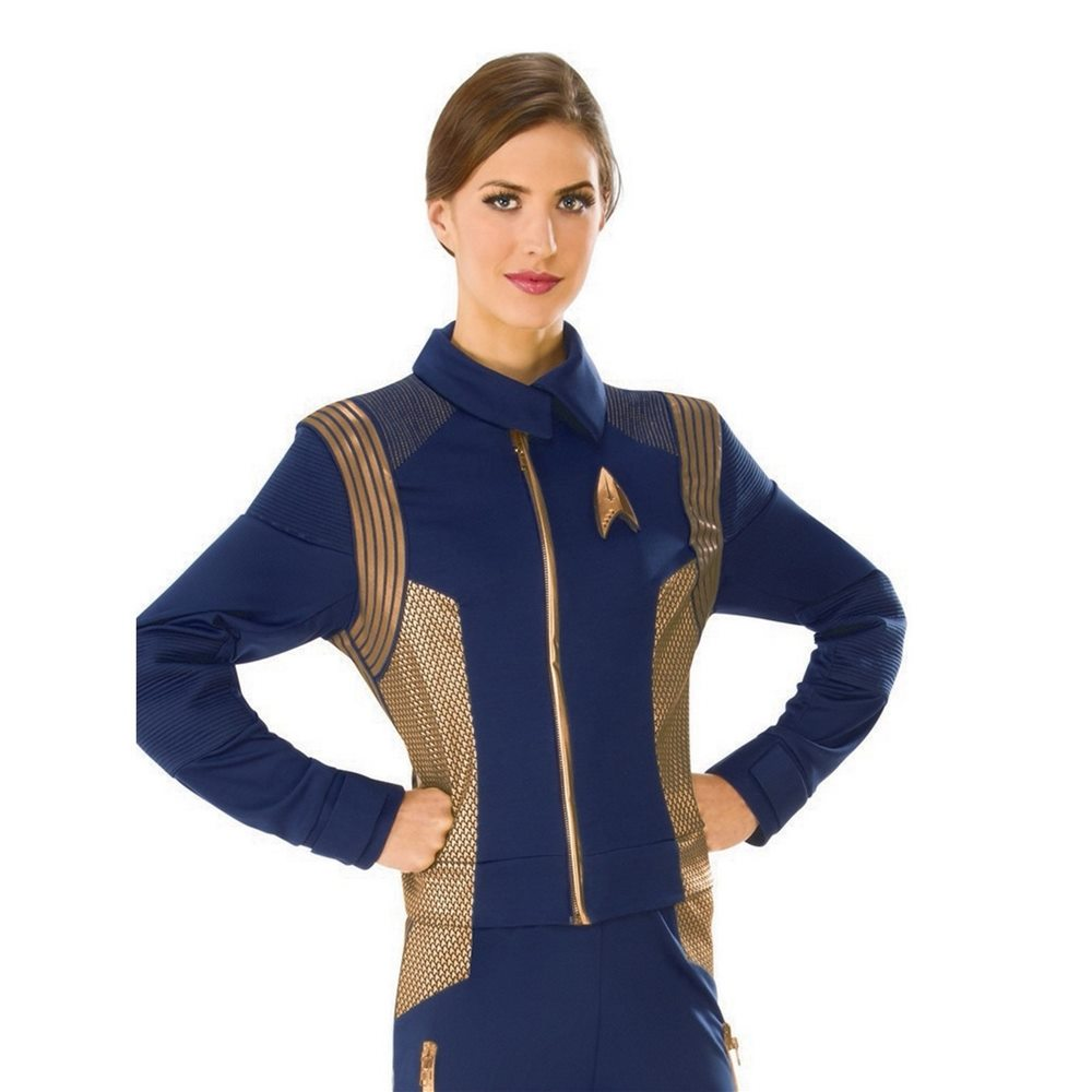 Picture of Star Trek Discovery Deluxe Operations Adult Womens Shirt