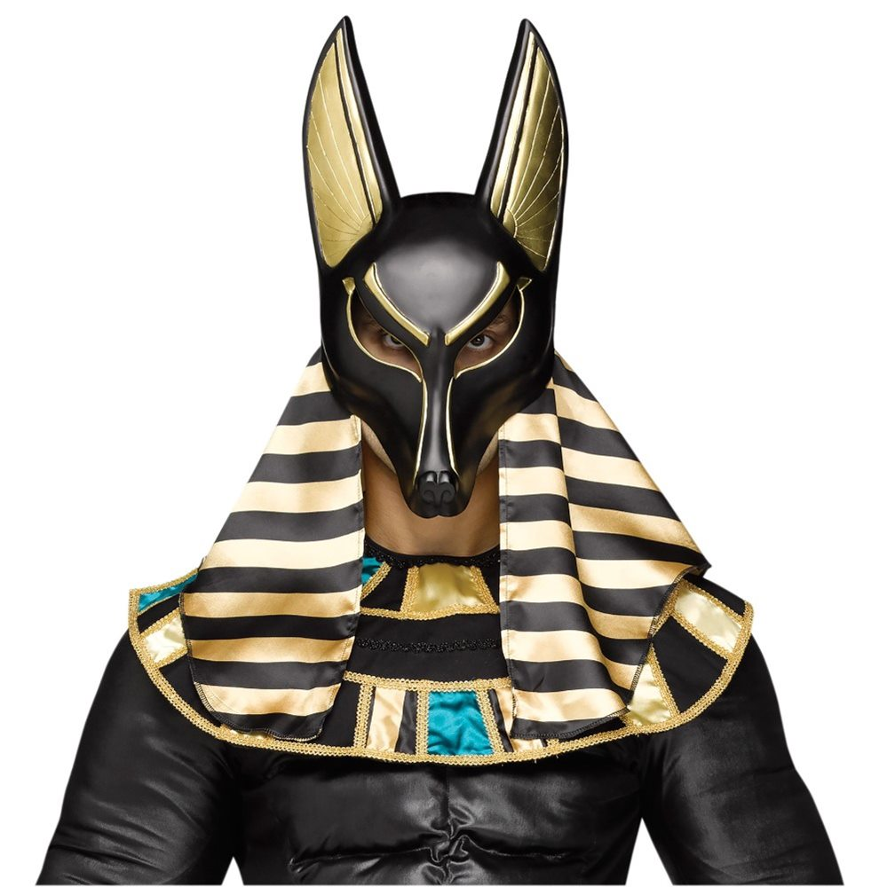 Picture of Anubis God of the Underworld Adult Mask