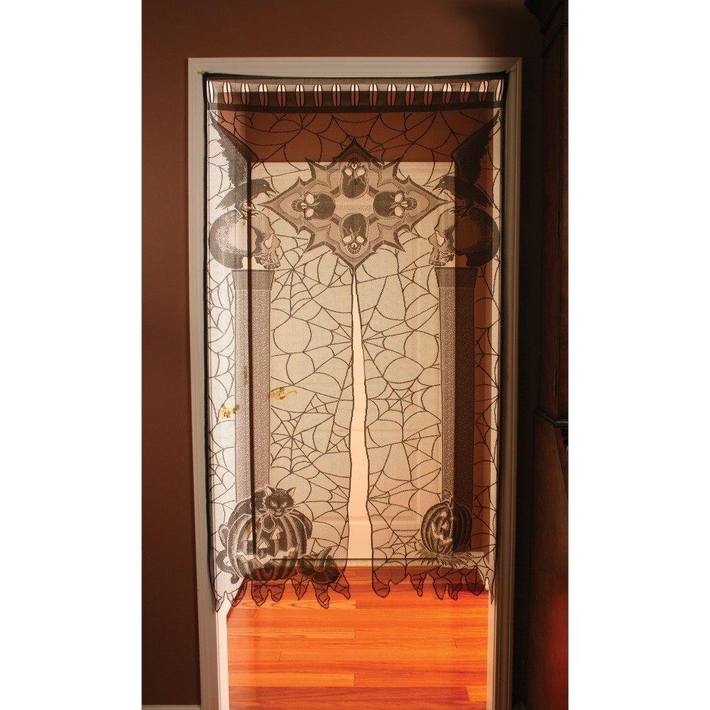 Picture of Skull Lace Door Panel