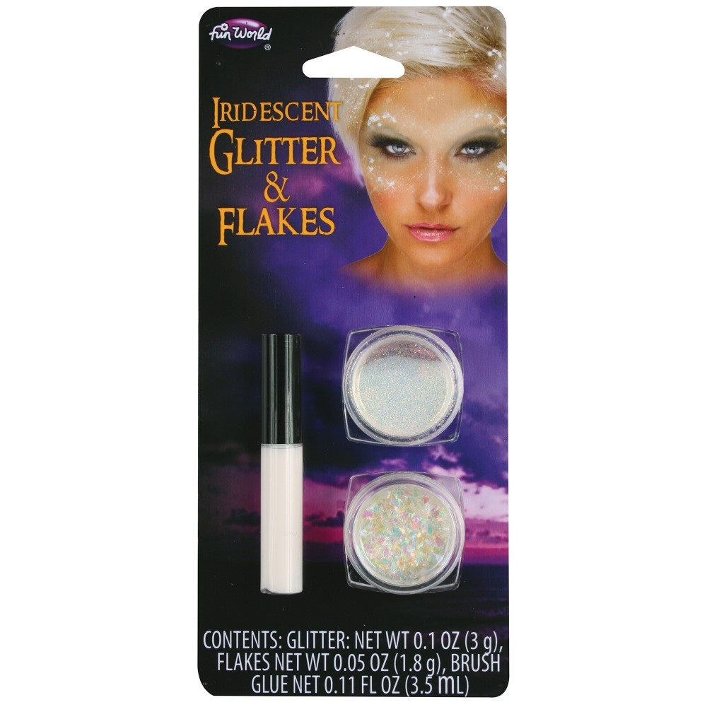 Picture of Iridescent Glitter & Flakes Makeup Kit