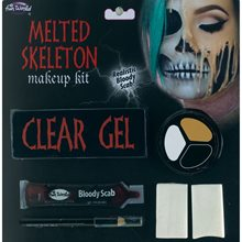 Picture of Melted Skeleton Makeup Kit