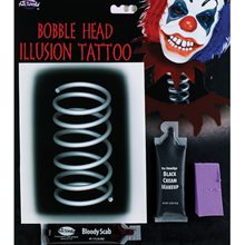 Picture of Bobble Head Illusion Tattoo Kit