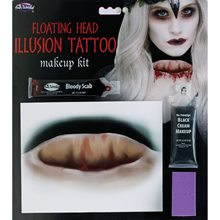 Picture of Floating Head Illusion Tattoo Kit