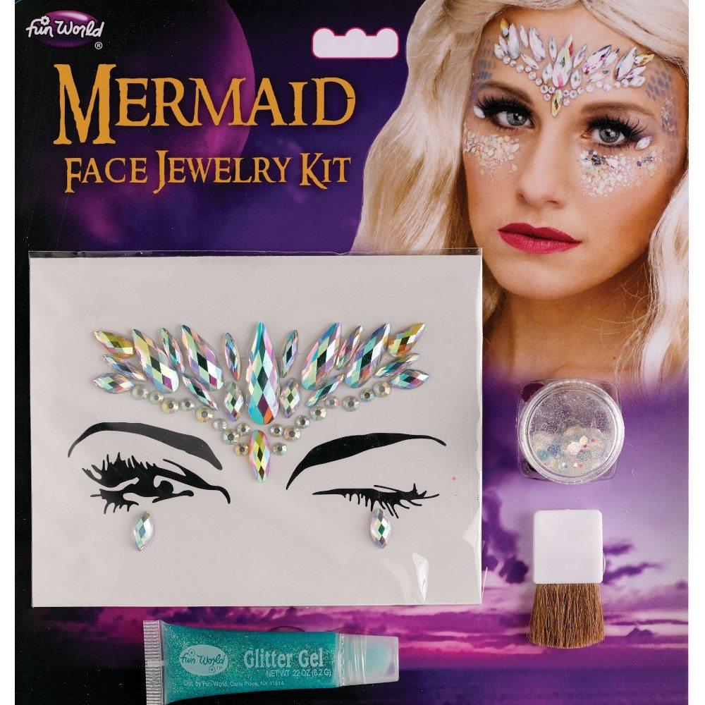 Picture of Mermaid Face Jewelry Kit