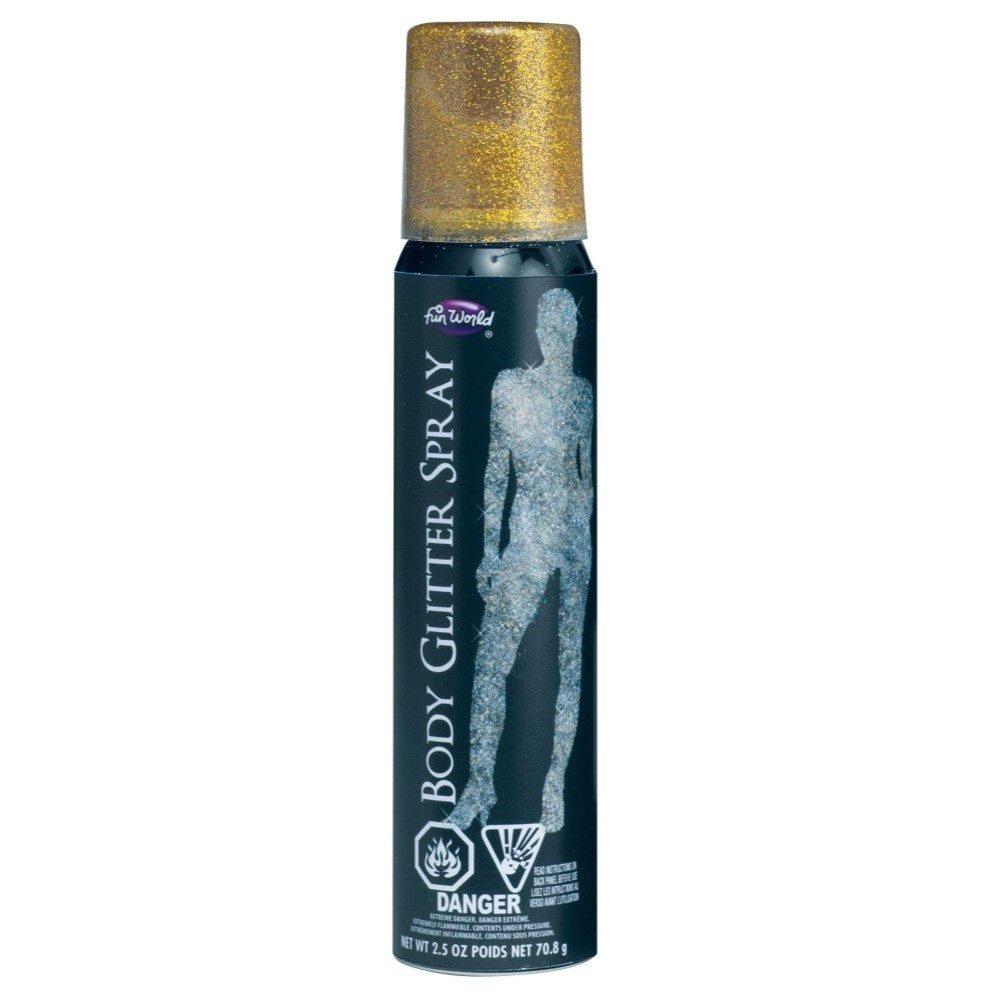 Picture of Gold Glitter Body Spray 2 oz