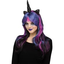 Picture of Dark Unicorn Wig