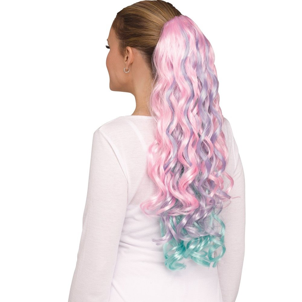 Picture of Curly Pastel Unicorn Tail
