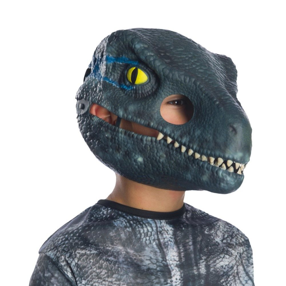 Picture of Jurassic World 2 Velociraptor Child Mask with Movable Jaw