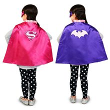 Picture of Supergirl & Batgirl Reversible Child Cape