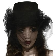 Picture of Heart of Darkness Top Hat & Veil