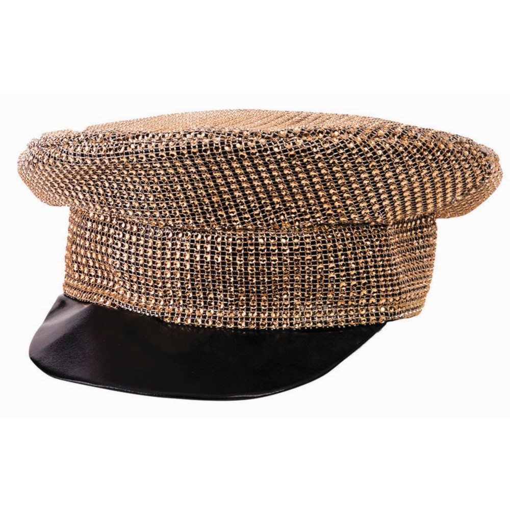 Picture of Gold Disco Officer Hat