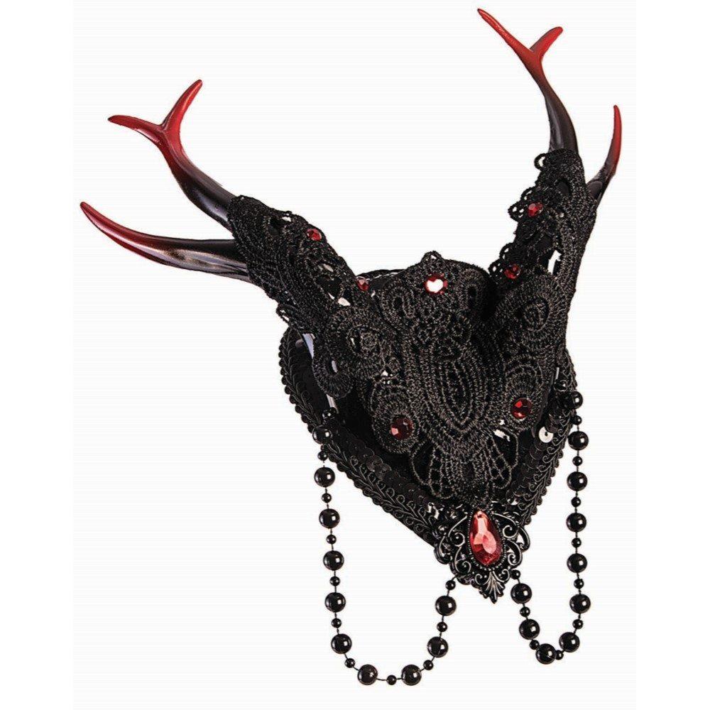Picture of Devil Fascinator Headpiece