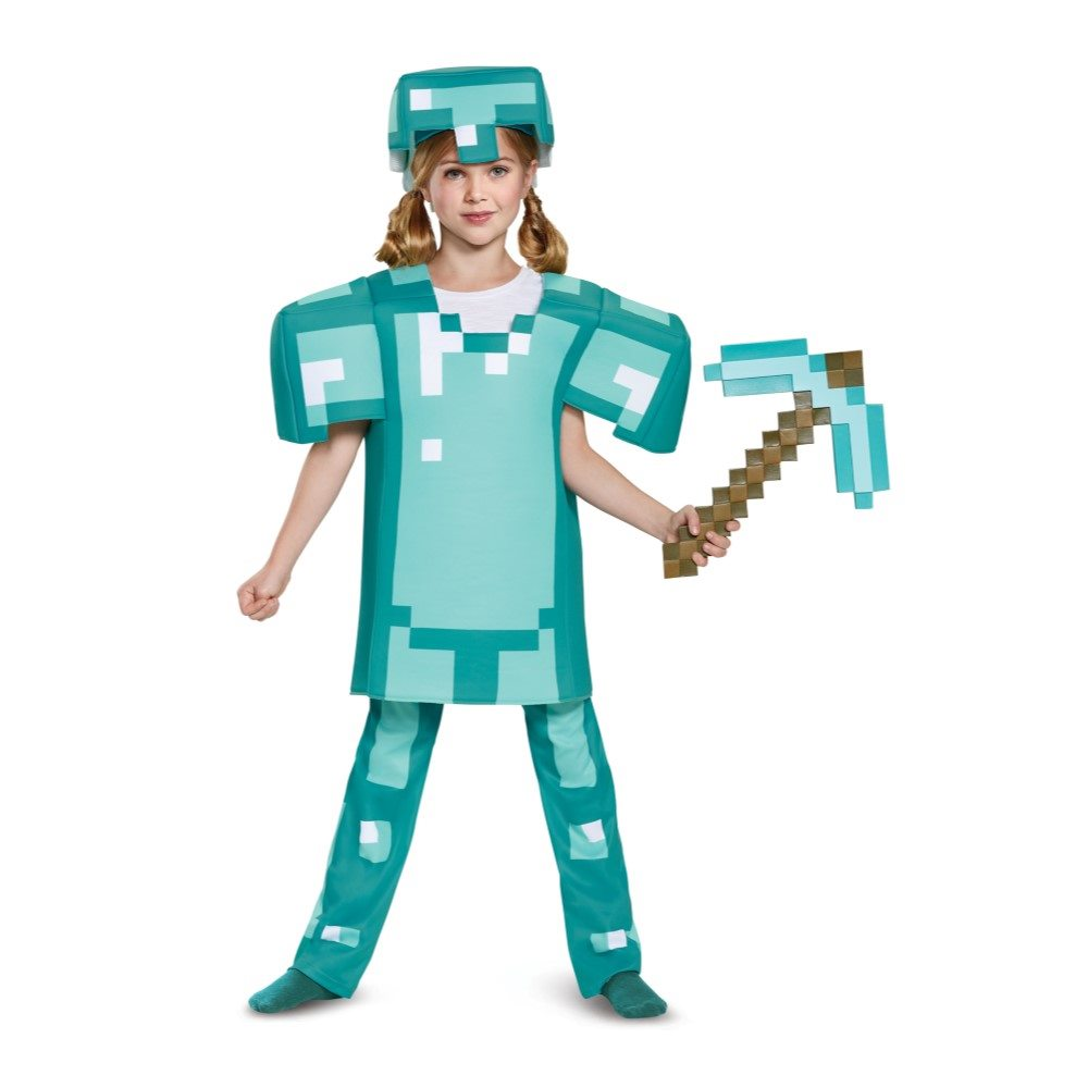 Picture of Minecraft Deluxe Armor Child Costume