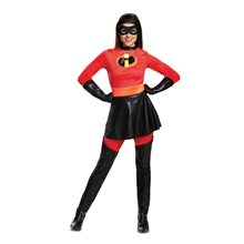 Picture of Mrs. Incredible Skirted Deluxe Adult Womens Costume