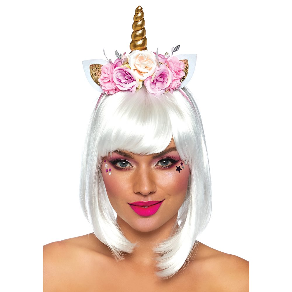 Picture of Fairy Unicorn Flower Headband