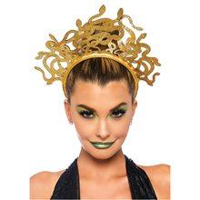 Picture of Medusa Glitter Snake Headband