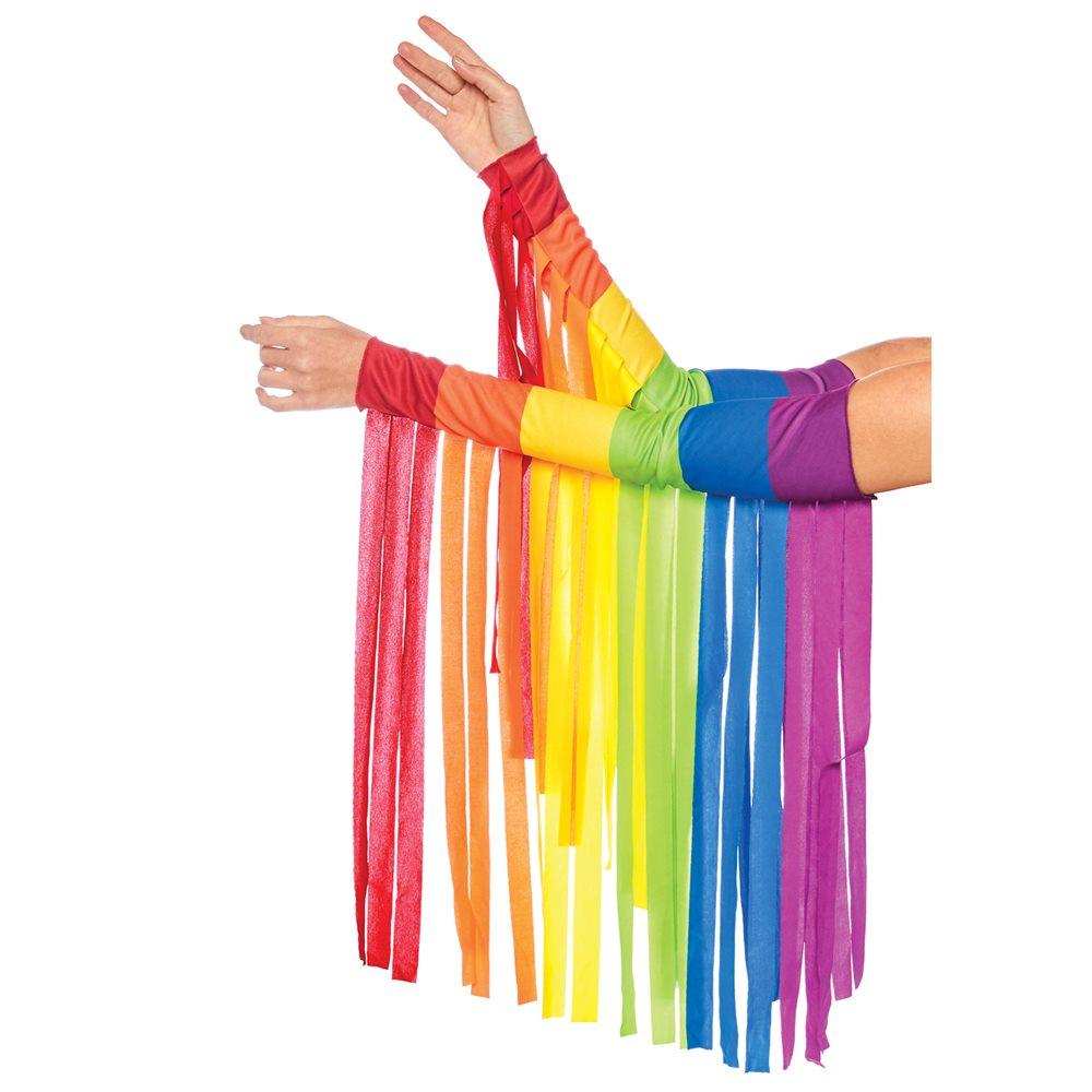 Picture of Rainbow Fringe Arm Pieces