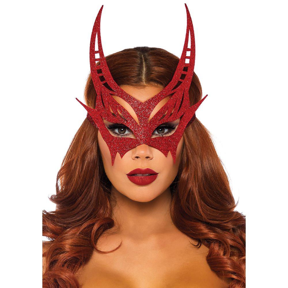 Picture of Gliter Devil Masquerade Mask
