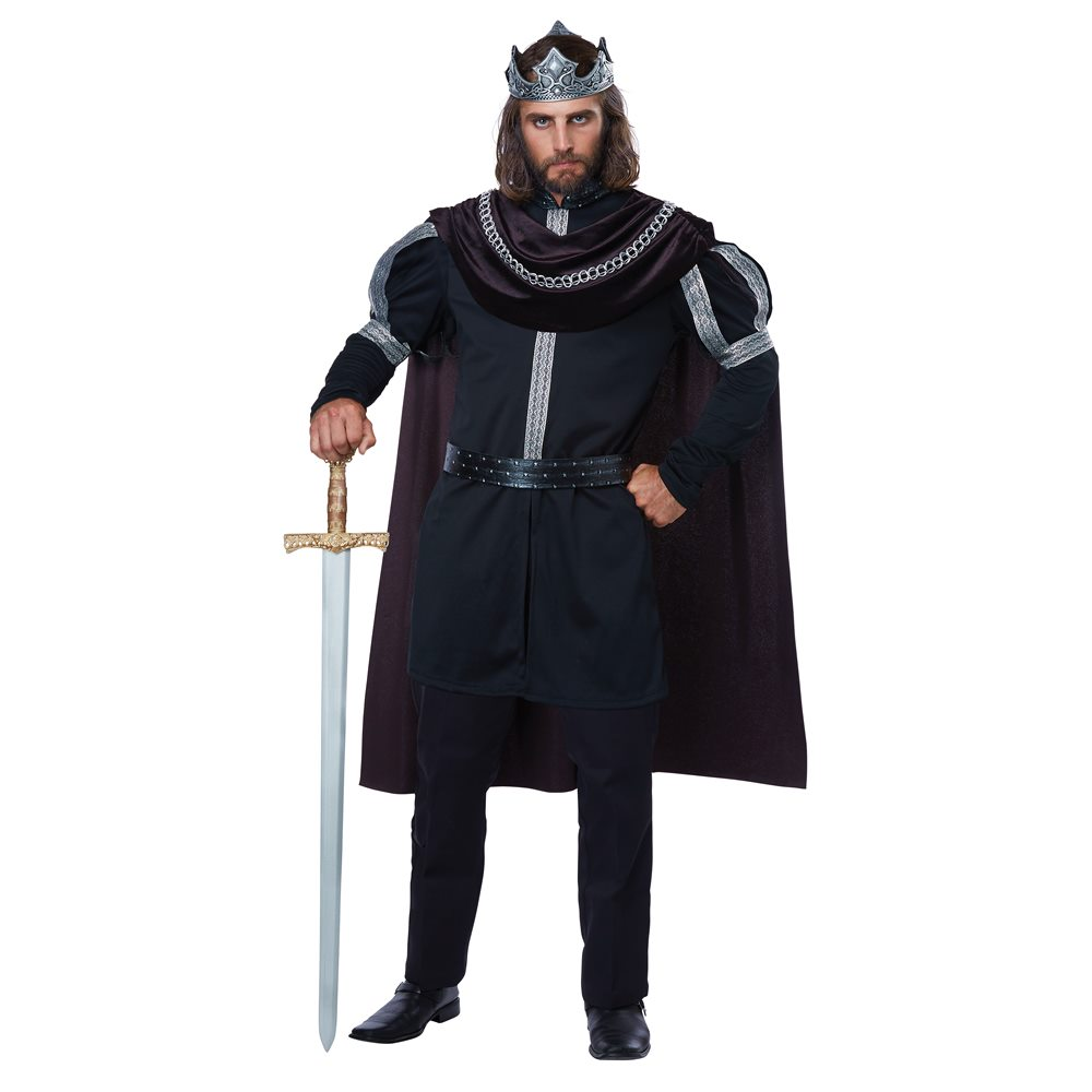 Picture of Dark Medieval Monarch Adult Mens Plus Size Costume
